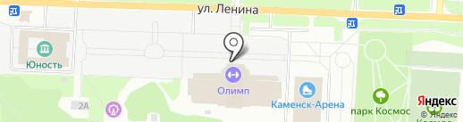 Октябрь, ФГУП на карте Каменска-Уральского