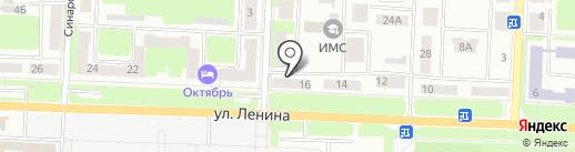 Медуница на карте Каменска-Уральского