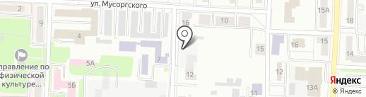 Детский сад №50 на карте Каменска-Уральского