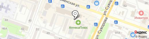 Бьюти на карте Каменска-Уральского