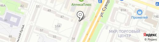 Леди XL на карте Каменска-Уральского