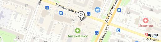 СКБ-банк, ПАО на карте Каменска-Уральского