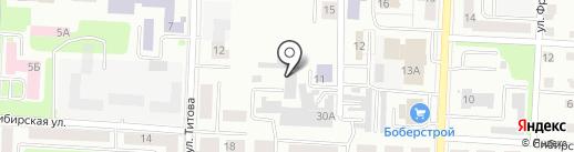 Аварийная служба слесарей Синарского района на карте Каменска-Уральского