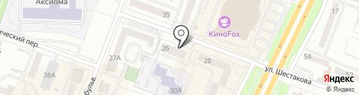 Ателье фасадов на карте Каменска-Уральского