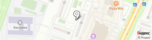 Вертикаль плюс на карте Каменска-Уральского