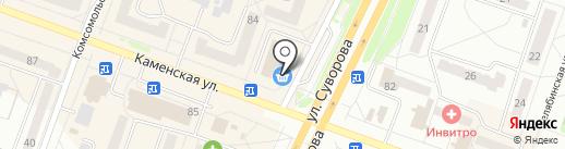 УралЭлектро на карте Каменска-Уральского