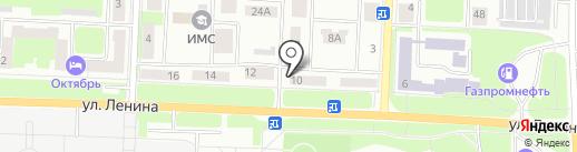 Магазин товаров для спорта на карте Каменска-Уральского