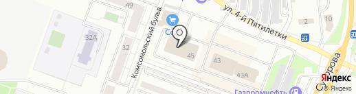 ЛЕО на карте Каменска-Уральского