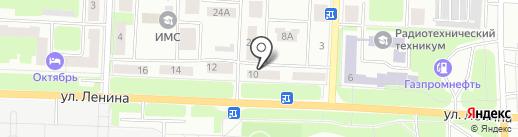 Аверс на карте Каменска-Уральского