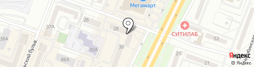 Ломбард №2 на карте Каменска-Уральского