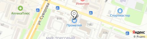 Техника на карте Каменска-Уральского