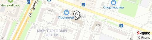 Евросеть на карте Каменска-Уральского