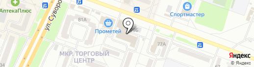 Магазин радиотоваров на карте Каменска-Уральского