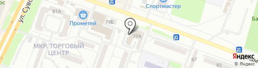 Миллион игрушек на карте Каменска-Уральского