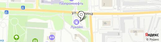 АЗС ЛУКОЙЛ на карте Каменска-Уральского