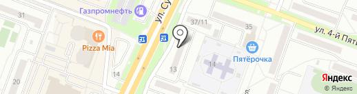 Овен на карте Каменска-Уральского
