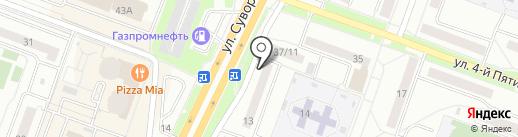 Мегадент на карте Каменска-Уральского