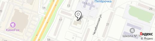 Белье и колготки на карте Каменска-Уральского