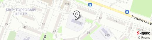 Детский сад №78 на карте Каменска-Уральского