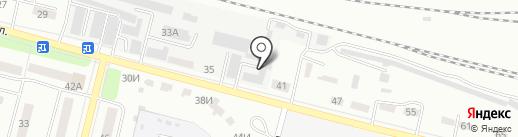 Крепеж-Сити на карте Каменска-Уральского