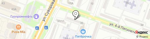 Драгоценности Урала на карте Каменска-Уральского