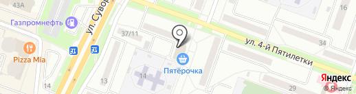 УралПромМеталл на карте Каменска-Уральского