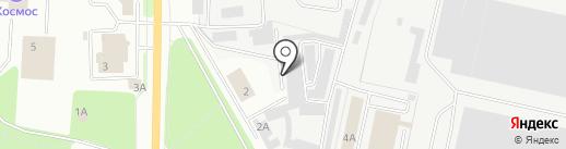 Каскад на карте Каменска-Уральского