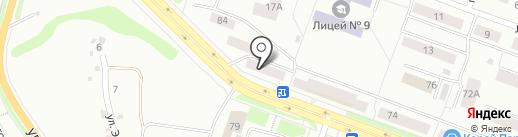 Идея на карте Каменска-Уральского