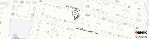 Авто-Трек Сервис на карте Каменска-Уральского