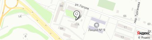 Строй-заказчик на карте Каменска-Уральского