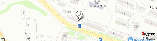 Юстор на карте Каменска-Уральского