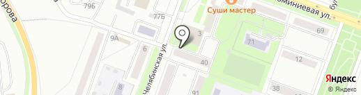 АвтоРинг на карте Каменска-Уральского