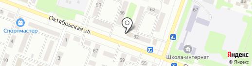 Магазин швейной фурнитуры на карте Каменска-Уральского