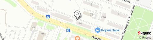 Спарта на карте Каменска-Уральского