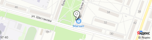 Цветочный магазин на карте Каменска-Уральского