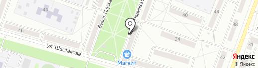 Дюшес на карте Каменска-Уральского