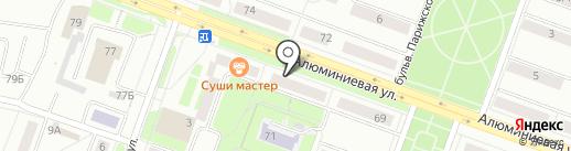 Пятерочка на карте Каменска-Уральского