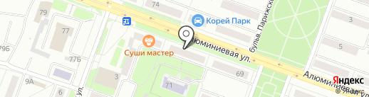 Формула Дивана на карте Каменска-Уральского