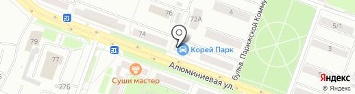 Фокус на карте Каменска-Уральского