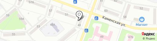 ЖЭУ №16 на карте Каменска-Уральского
