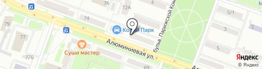 Детская стоматологическая поликлиника на карте Каменска-Уральского