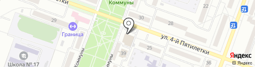 Волшебный замок на карте Каменска-Уральского