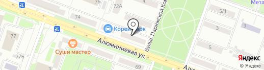 Банкомат, Ханты-Мансийский Банк Открытие на карте Каменска-Уральского