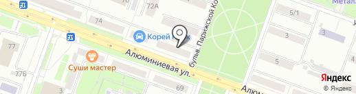 Компьютерный клуб на карте Каменска-Уральского