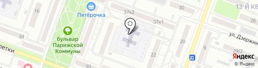 Детский сад №88 на карте Каменска-Уральского