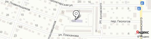Детский сад №100 на карте Каменска-Уральского