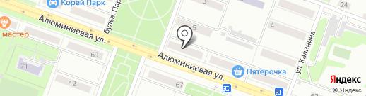 Пинта на карте Каменска-Уральского