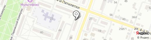 Винт на карте Каменска-Уральского