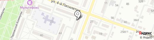 Пульс на карте Каменска-Уральского