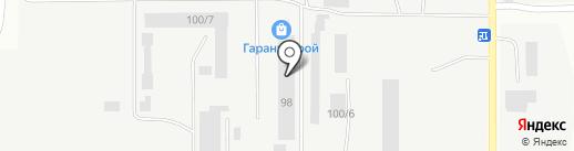 УМК на карте Каменска-Уральского